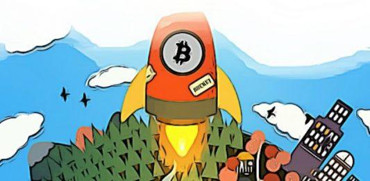 Bitcoin růst pád