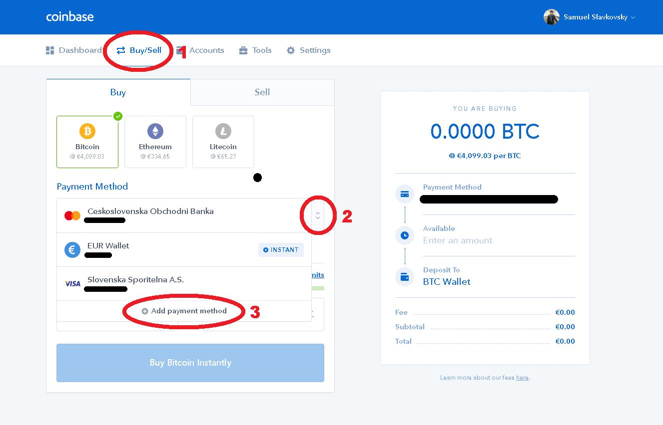 coinbase verifikace občanský průkaz