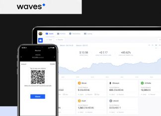 waves wallet new nová