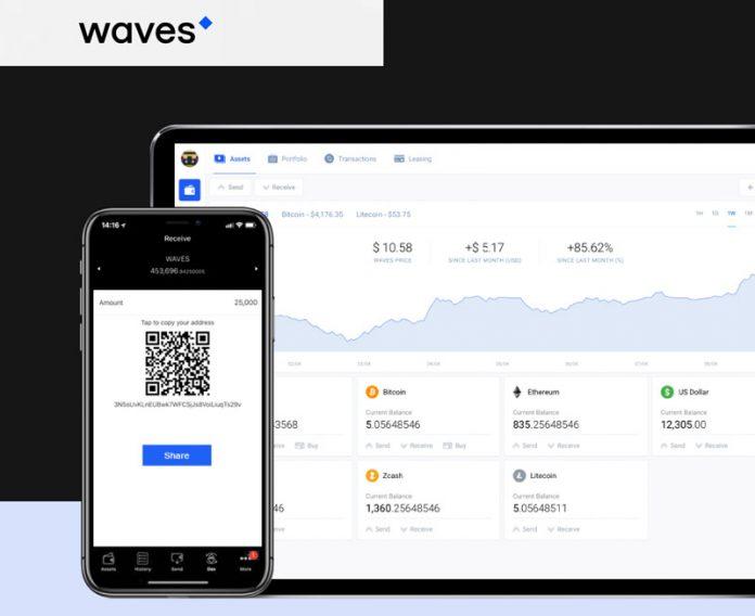 waves wallet new nová