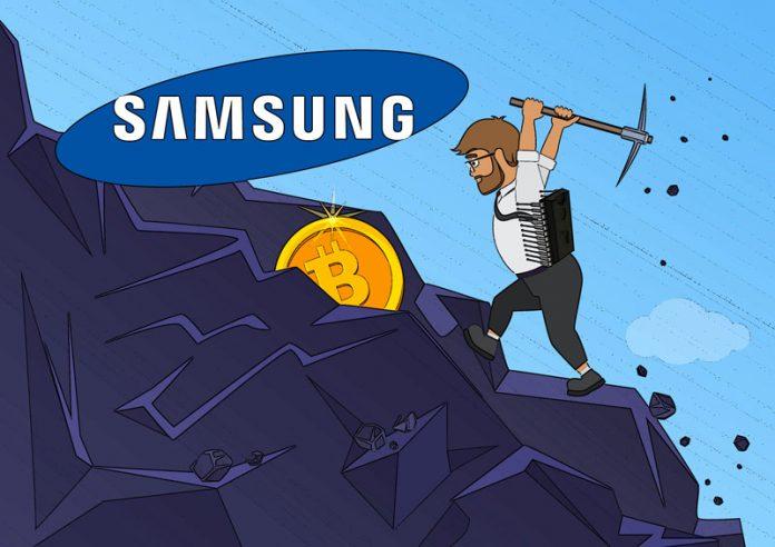 Samsung mining chip