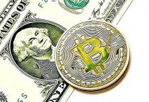 dolar bitcoin peníze