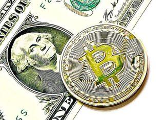 dolar bitcoin peníze souhrn