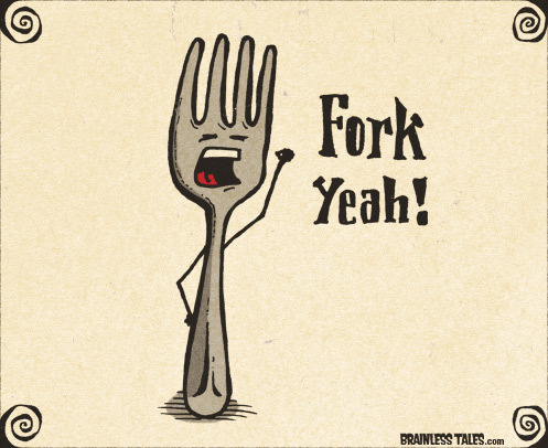 Co je to fork? – část druhá
