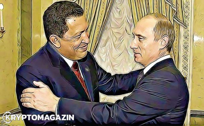Rusko potají pomohlo Venezuele spustit státní kryptoměnu Petro