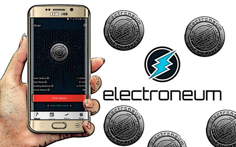 Jak funguje mobilní miner Electroneum