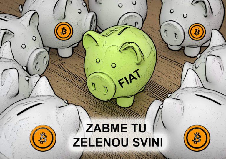 Co by se stalo, kdyby lidé přešli hromadně na Bitcoin a opustili fiat?