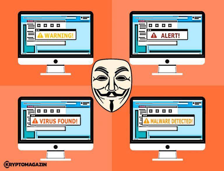 Počet webových stránek šířících malware na těžbu kryptoměn vzrostl o 700 %
