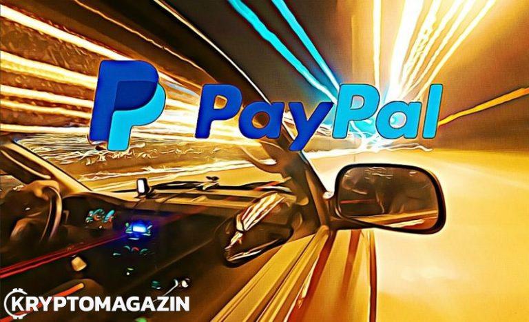 PayPal si chce patentovat systém rychlých kryptoplateb