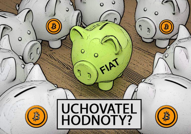 Nositelé hodnot – srovnáváme Bitcoin se zlatem a fiat měnami