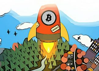 Bitcoin růst hranice