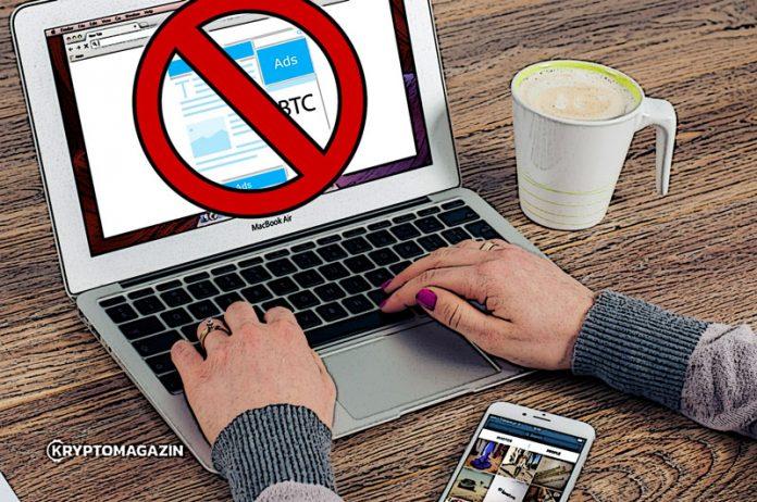 Firmy Facebook a Google už částečně povolily reklamy na kryptoměny