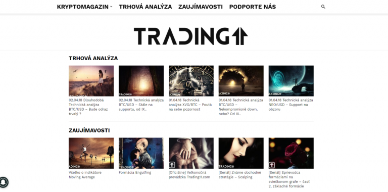 Zveme vás do naší nové tradingové sekce