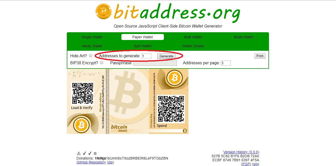 návod, [Návod] Ako si vytvoriť papierovú kryptopeňaženku na Bitcoin