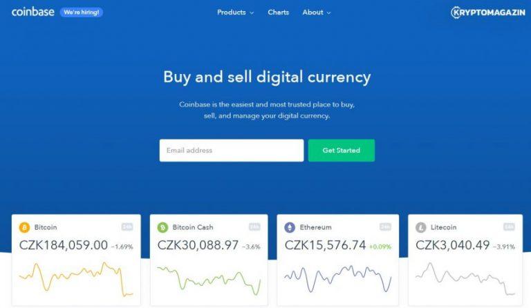 [ZPRÁVY] Coinbase oznámila Coinbase Pro – Weiss: Kryptoměny budou bezpečnější než banky