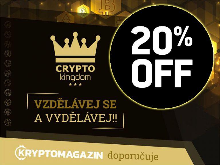 Využijte novou 20% slevu na Crypto Kingdom signály