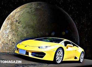 lambo bitcoin moon