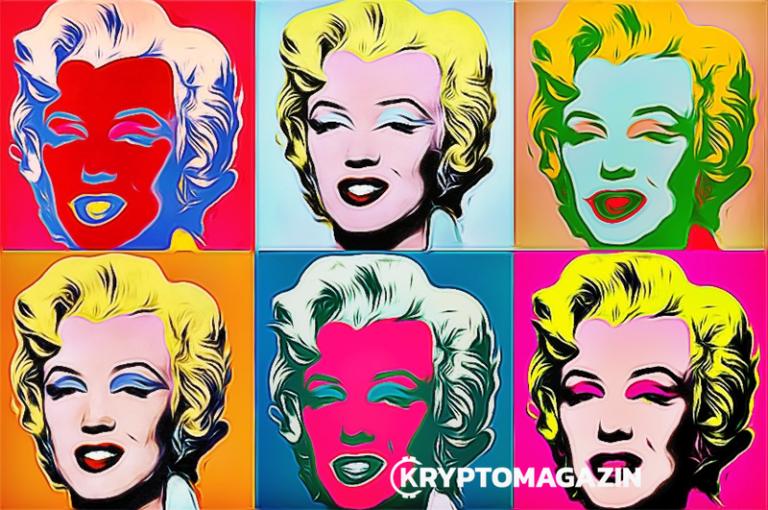 Aukce obrazu Andyho Warhola proběhne na Ethereum blockchainu