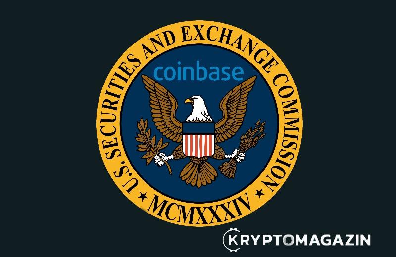 [ZPRÁVY] Coinbase je na dobré cestě k získání registrace u SEC – Čínská velryba nakoupila 90000 BTC