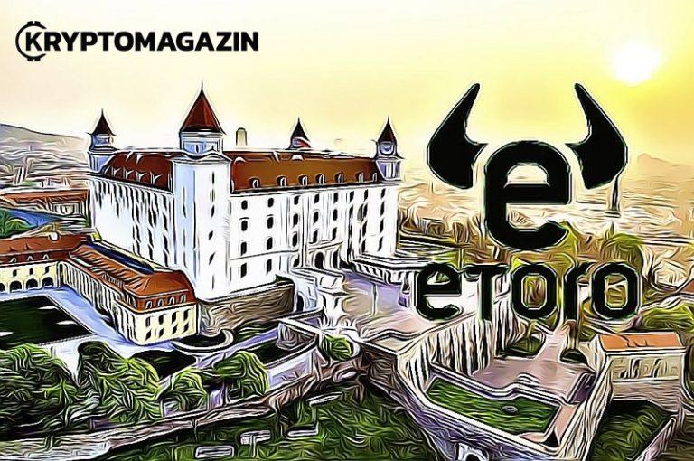 Online sociální investiční platforma eToro s 9 milióny uživatelů si vybrala Slovensko pro test