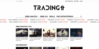 trading homepage