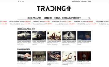 trading homepage