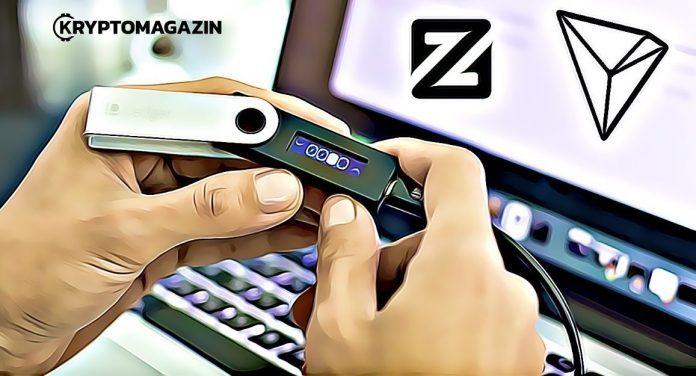 Hodleři pozor - Tron a ZCoin můžete držet už i v Ledger Nano S