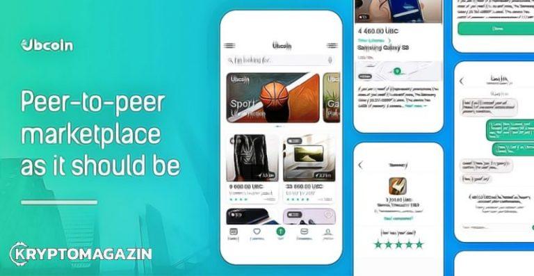 Ubank spouští první verzi své Ubcoin Market platformy
