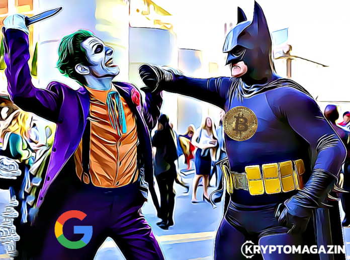 google vs bitcoin