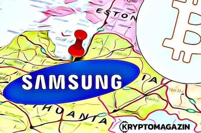 Samsung obchody přidávají možnost platit kryptoměnami – zatím jen v Pobaltí