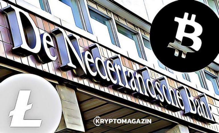 Holandská centrální banka neeviduje kryptoměny jako reálné peníze