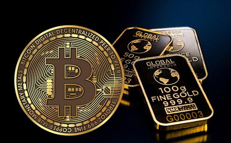 Bitcoin vs. zlato – věční rivalové