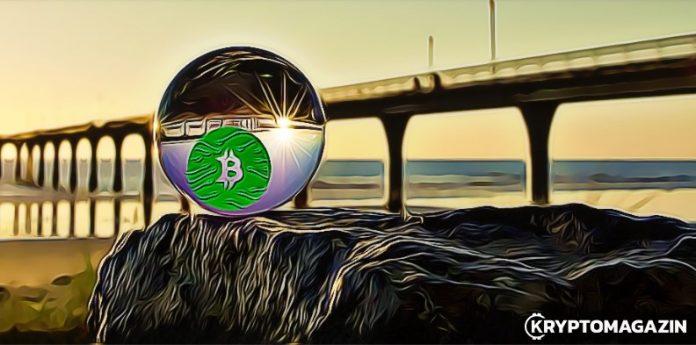 bitcoin, most, koule, křišťál