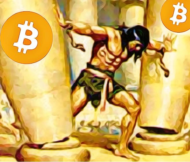 bitcoin pillars falling