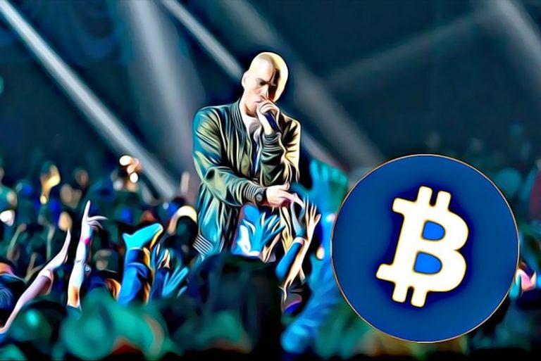 Eminem rapuje o Bitcoinu – kryptoměny vstupují do pop-kultury