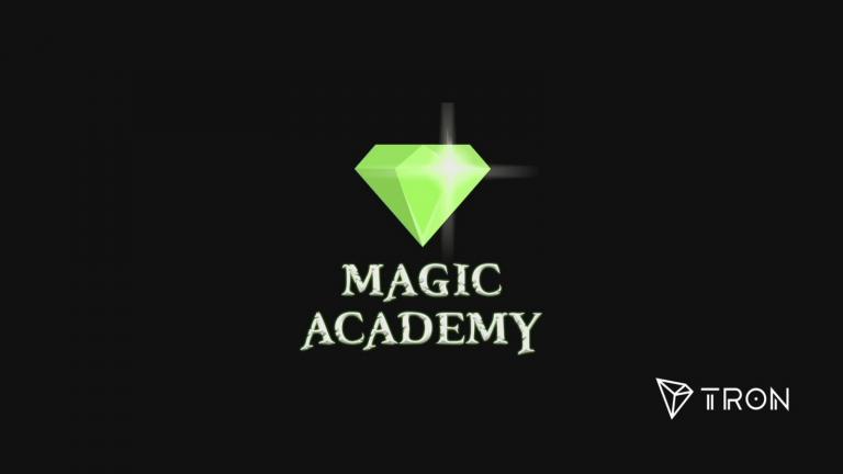 První hra na síti TRONu (TRX): Magic Academy