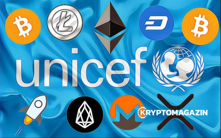 UNICEF se kryptoměn nebojí