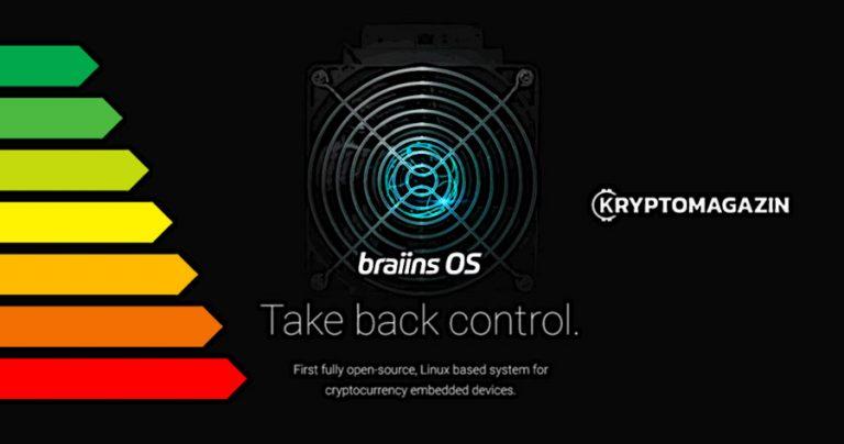 Díky českému Braiins OS na Antmineru S9 ušetříte až 13% energie