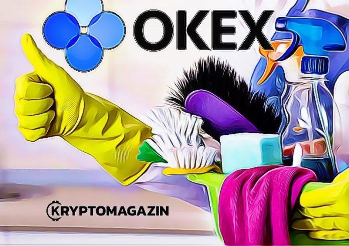 Burza Okex se chystá uklízet: Delistuje až 42 kryptoměnových párů