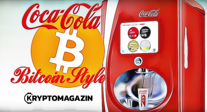 Coca Cola automat BTC