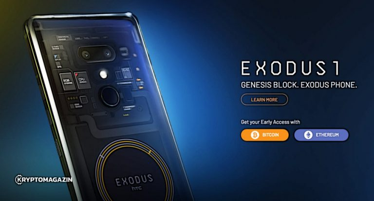 HTC představilo světově první blockchainový telefon EXODUS 1