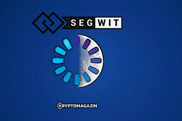 SegWit pokrývá již 50 % bitcoinové sítě