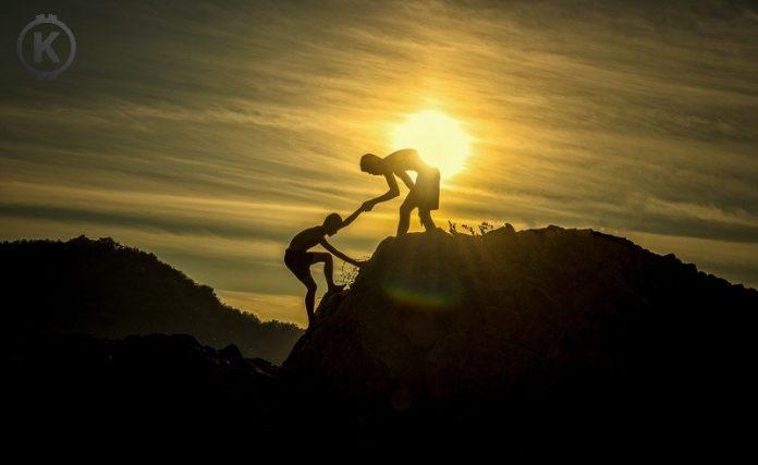 pomoc, kopec, motivace