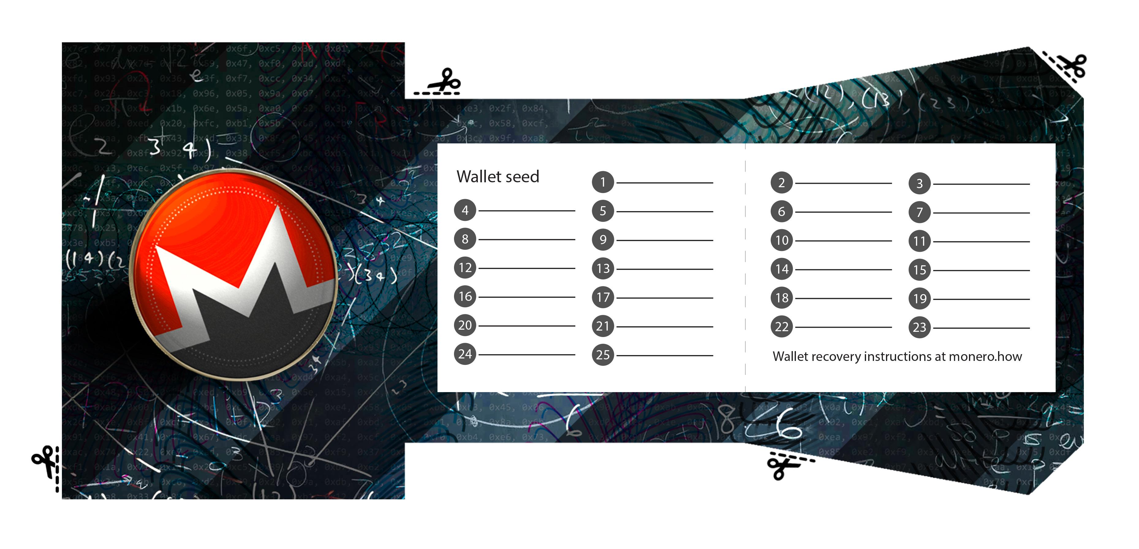 monero paper wallet