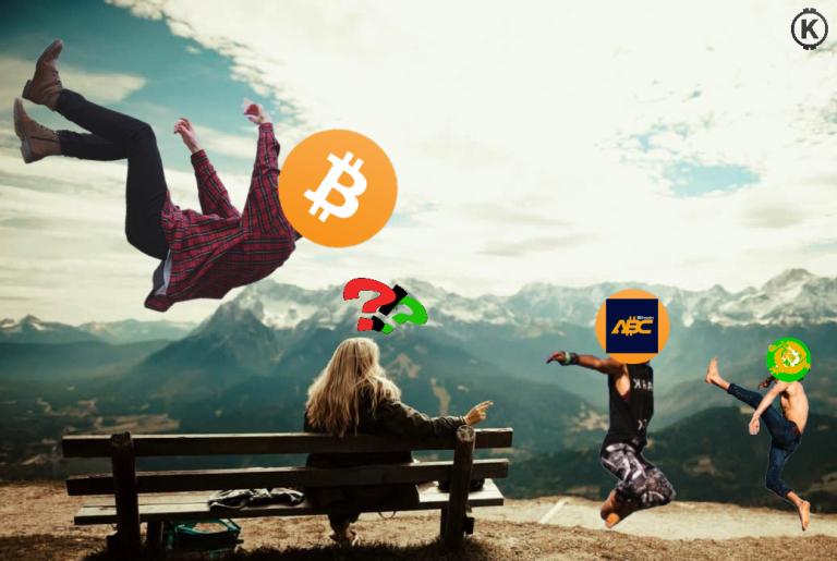 Článek o tom, proč Bitcoin tolik padá – může za to Hidden Gap? A kam až to klesne?