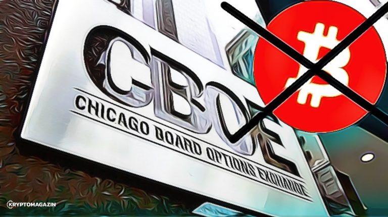 Burza CBOE přestane nabízet Bitcoin futures!