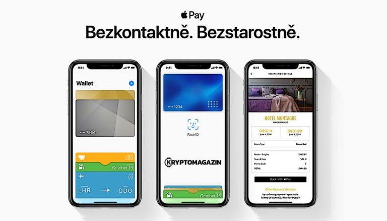 Apple Pay dnes spuštěn v ČR – konečně zaplatíte mobilem