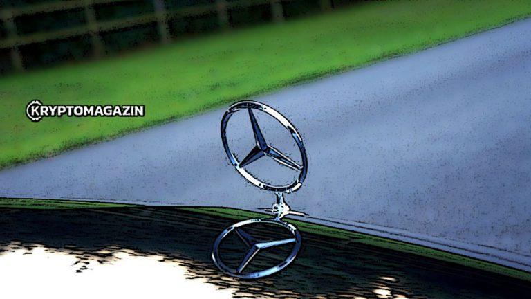 Mercedes-Benz začal používat blockchain