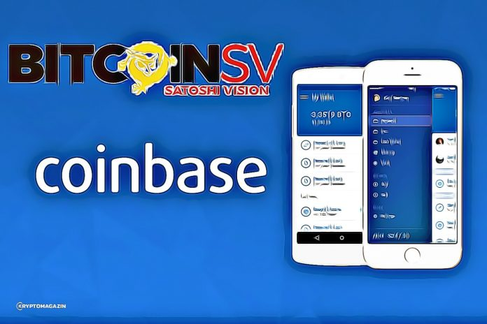 Bitcoin SV Coinbase