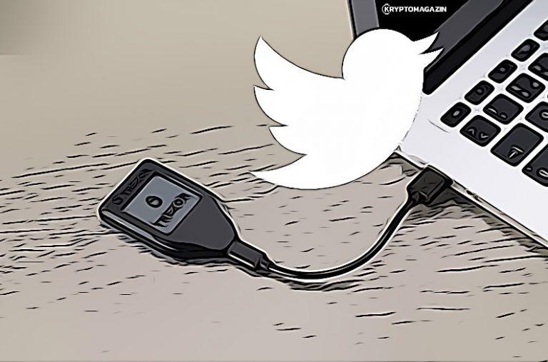 [KRÁTKÁ ZPRÁVA] Šéf Twitteru má novou bezpečnou peněženku – Je jí český Trezor!